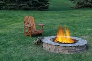 Firepit In Backyard Diy Inspiring Pit Designs