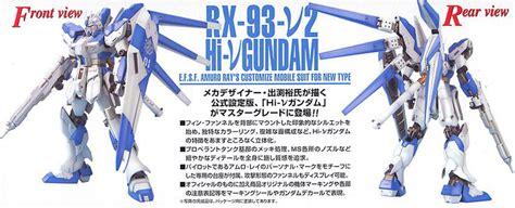T Shirt Kaos Anime Gundam Hi Nu gundam 1 100 mg hi nu gundam animedirect co za