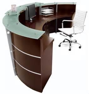 Walnut Reception Desk Walnut Reception Desk In Stock Free Shipping