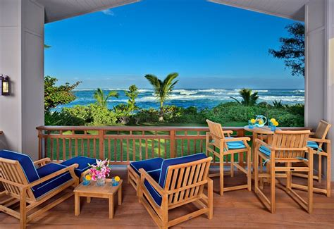 oceanfront luxury vacation homes kauai hawaii usa oceanfront 4 bedroom luxury