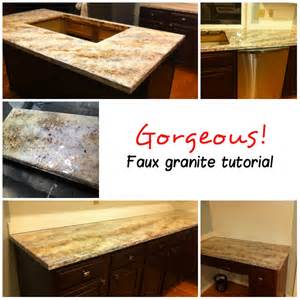 faux painted countertops faux sho painted granite countertops scharlerama