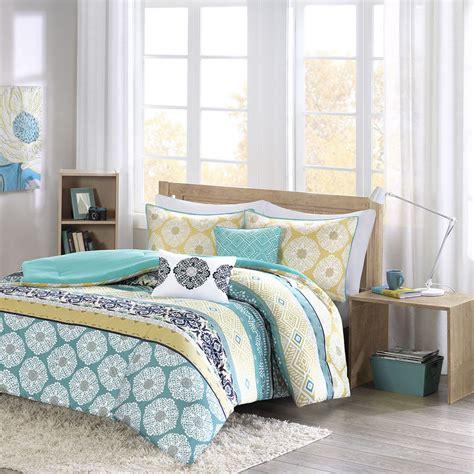navy blue and yellow bedding beautiful modern chic blue yellow green navy teal aqua