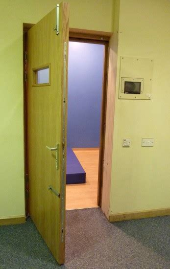 seclusion room seclusion room doors cell doors multipoint locking vision panels
