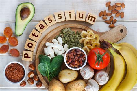 in quali alimenti si trova il potassio potassio propriet 224 benefici e in quali alimenti si trova