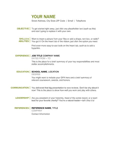 resume social worker resume template luxury free resume templates