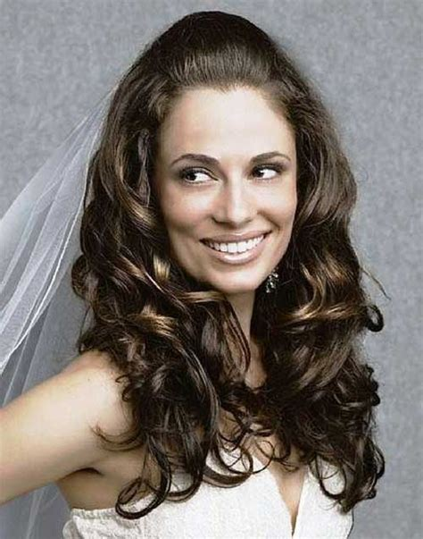 hairstyles in open hair 30 best half up curly hairstyles hairstyles haircuts
