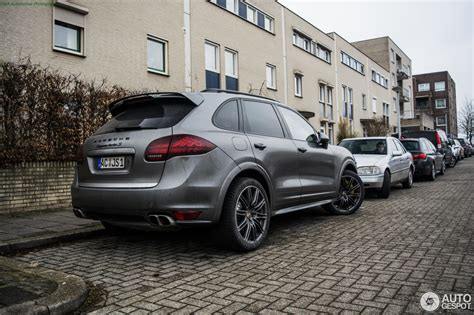 2017 porsche cayenne turbo s porsche 958 cayenne turbo s 13 february 2017 autogespot
