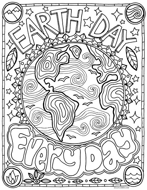 earth mandalas coloring pages soul flower blog finding soul