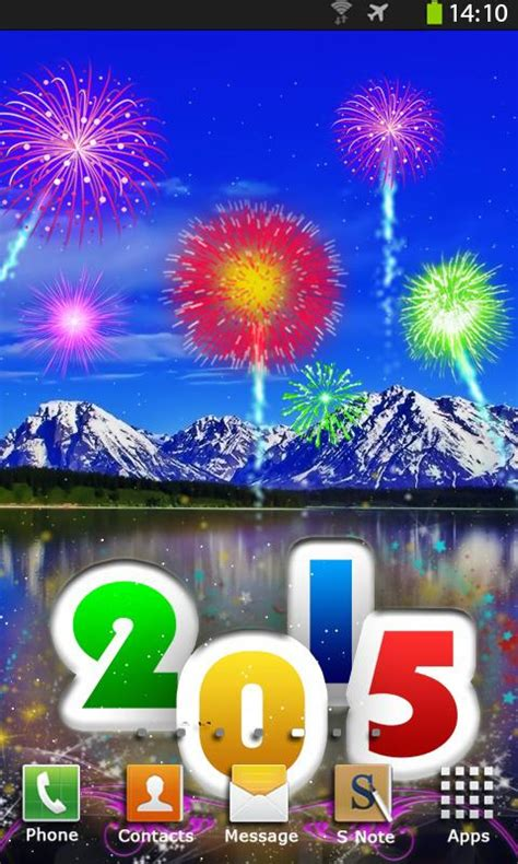 new year 2015 live fireworks live wallpaper android apps on play