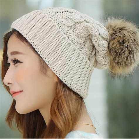 7 Adorable Winter Hats by 2017 S Winter Hats Beanies Knitted Cap Crochet
