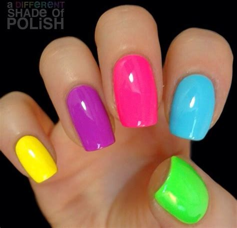easy nail art bright colors best 25 bright nail designs ideas on pinterest pretty