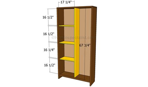 How To Wardrobe by How To Build An Armoire Wardrobe Howtospecialist How To Build Step By Step Diy Plans