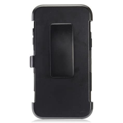 for samsung j3 j320 heavy duty rugged armor with belt clip holster ebay