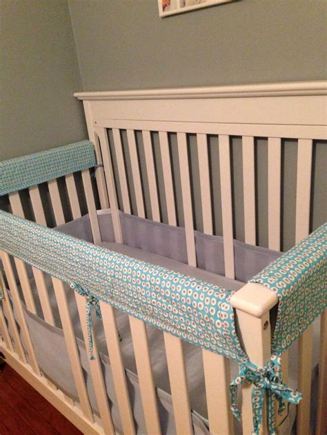 Teething Guard For Crib Rail by Handmade Crib Rail Guard For Teething Babies Made