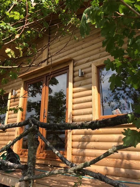 timber buildings garden offices teign trees