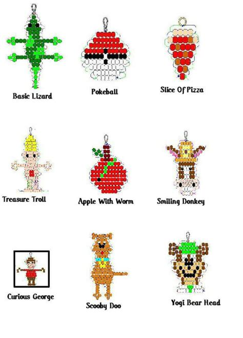 Free Bead Buddy Craft Patterns Beadies Patterns Pictures
