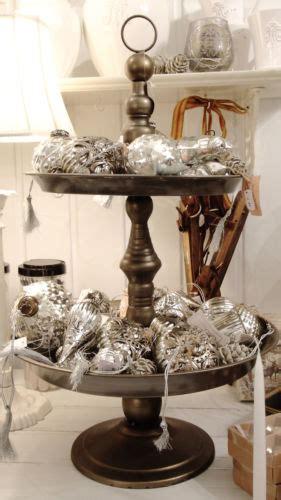 etagere weihnachten etagere metall antiksilber shabby vintage fr 228 ulein fr 246 hlich