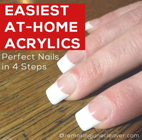 Easiest Nail by Easiest Diy Acrylic Nails Diy Acrylic Nails Acrylic