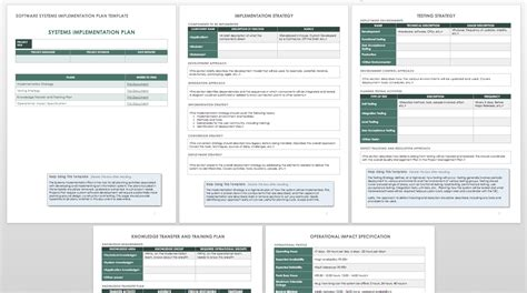 it implementation plan template how to create an implementation plan smartsheet