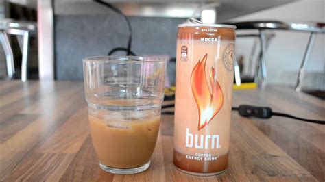 energy drink or coffee burn coffee energy drink mocca review