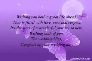 message for wedding card wedding card messages