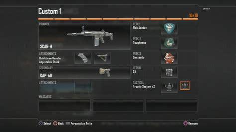 best h black ops 2 scar h best assault rifle class setup guide