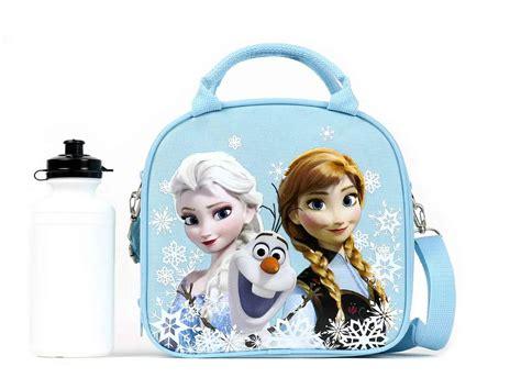 Lunch Box Frozen disney frozen lunch box with shoulder water bottle