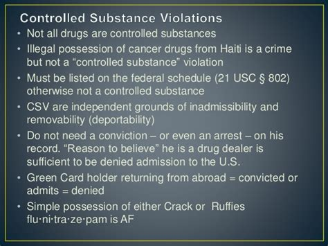 controlled substance act section 102 passaic seminar final