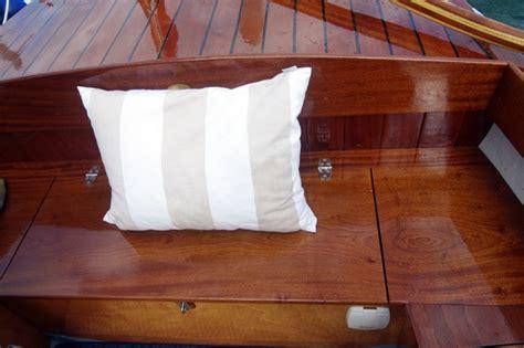 boat stern bench seat cove 18 boat test classic boat magazine