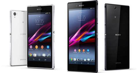 Pasaran Hp Sony Xperia Z Ultra sony xperia z1 y z ultra pasar 225 n directamente a android kitkat