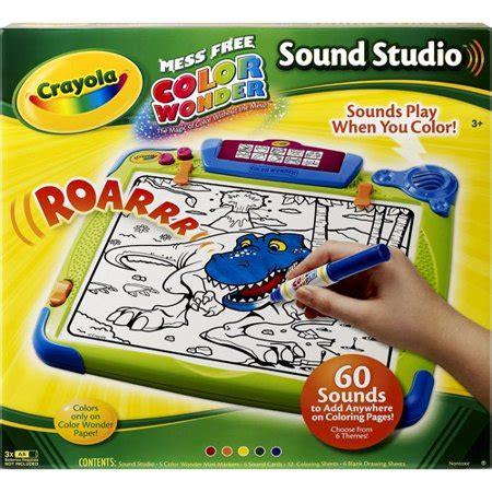 crayola color studio crayola color sound studio walmart