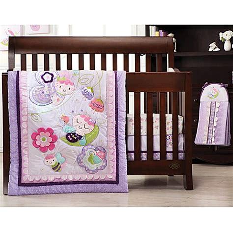 Kids Line Flutter Bug 4 Piece Crib Bedding Set Buybuy Baby Bug Crib Bedding