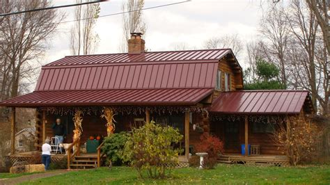 log home roof styles metal roof and barn style log home metal building