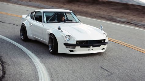 fairlady z white datsun nissan fairlady 240z with quot han quot sung kang