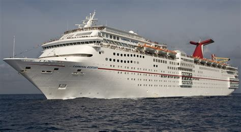 carnival ecstasy cruise ship carnival ecstasy itinerary schedule current position