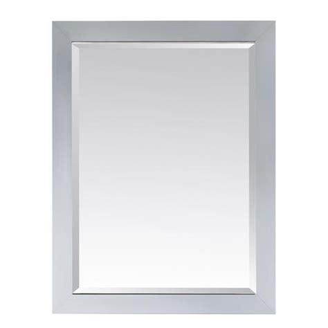 avanity 28 quot white modero mirror at menards 174