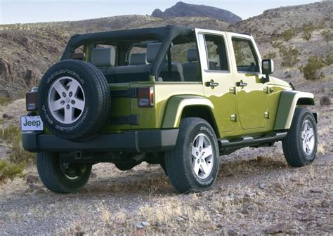Open Top Jeep Wrangler 2007 Jeep Wrangler Unlimited Review Top Speed