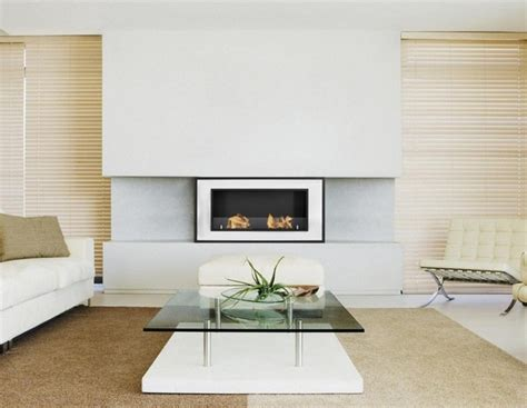 bellezza modern ventless ethanol fireplace