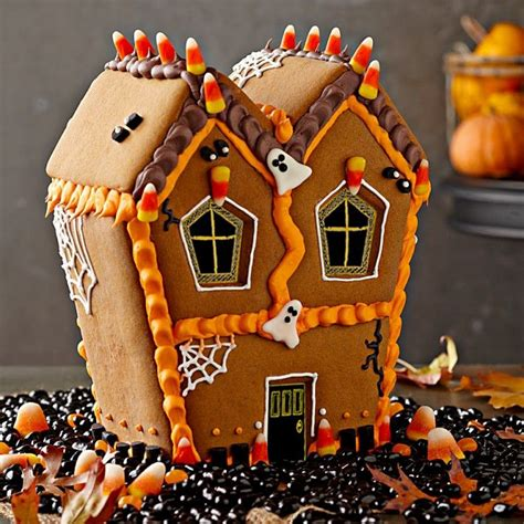 haunted gingerbread house kit 119 best gingerbread house halloween images on pinterest