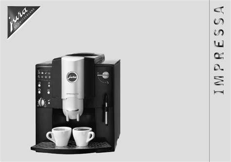 Jura Impressa C9 Bedienungsanleitung by Kaffeemaschine Jura Bedienungsanleitung Deptis