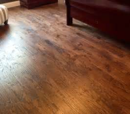 handscraped red oak flooring traditional dallas by southland flooring remodels