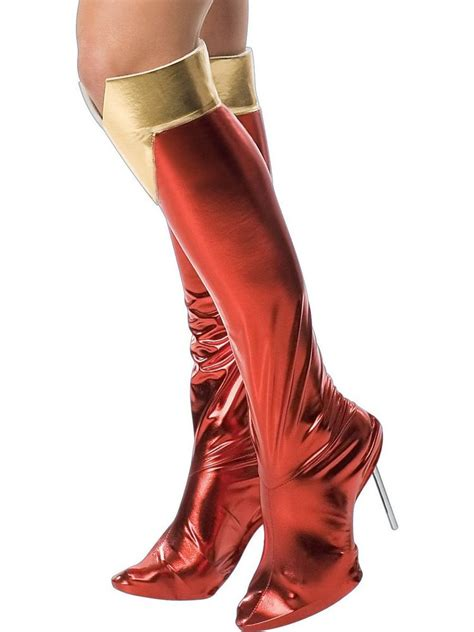 costume boot covers supergirl fancy dress