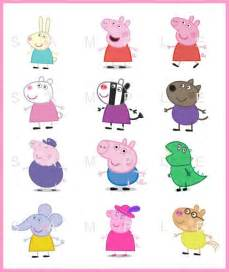 10 sale instant download peppa pig 3 quot digital birthday balloon stickers bs006 kids