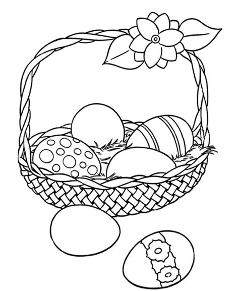 coloring pages easter pdf printable easter egg basket coloring page az coloring pages