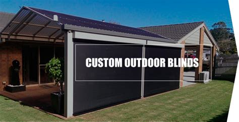 Custom Patio Blinds by Mallee Outdoor Blinds Home