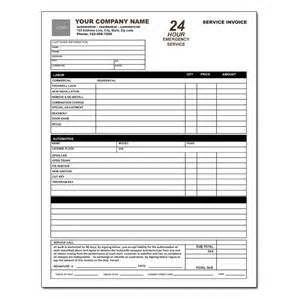 Locksmith Invoice Form   Work Order   DesignsnPrint