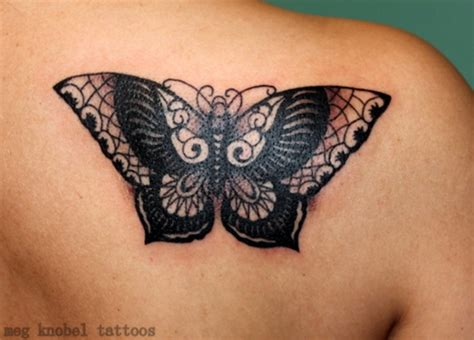 73 awesome butterfly shoulder tattoos