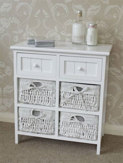 white wicker bathroom cabinet white cabinet storage basket unit drawers hall bathroom