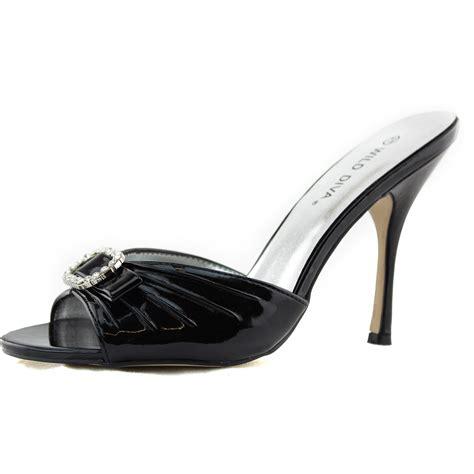 black high heel mules black high heel mules 28 images pleaser shoes lip102 3