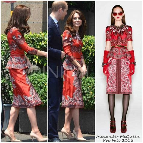 Yay Or Nay Kidmans Butterfly Mcqueen Gown At Cma Awards by Yay Or Nay Kate Middleton In Mcqueen Pinkvilla
